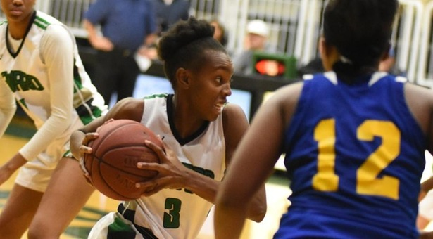No. 6 Lady Saints beat Lady Plainsmen to start season at 2-0