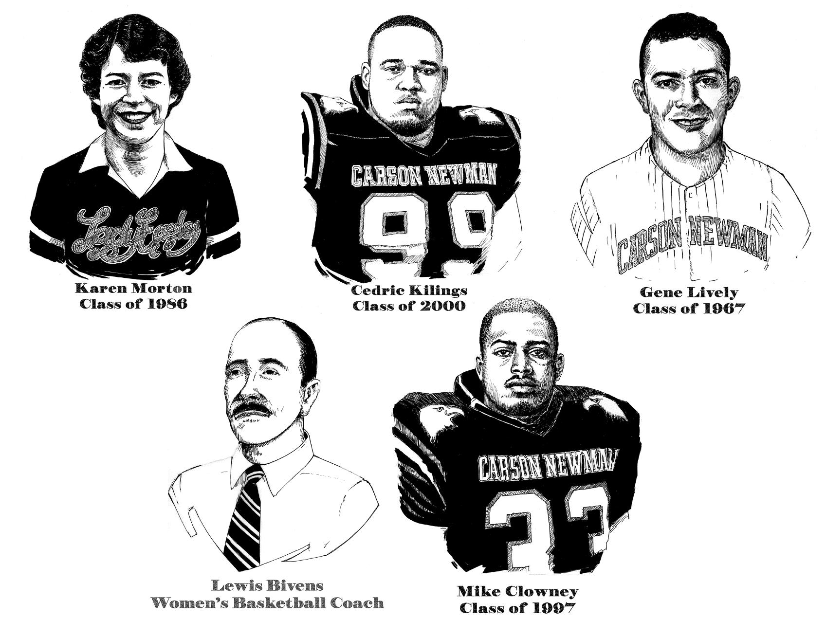 C-N announces five-member Hall of Fame class, induction ceremony scheduled for Saturday