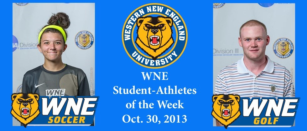 Ninth WNE Student-Athlete of the Week Awards Bestowed to Briana Kubik, Patrick Donahue