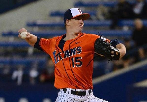 Eshelman Throws Third Straight Complete Game but Titans Fall to Highlanders