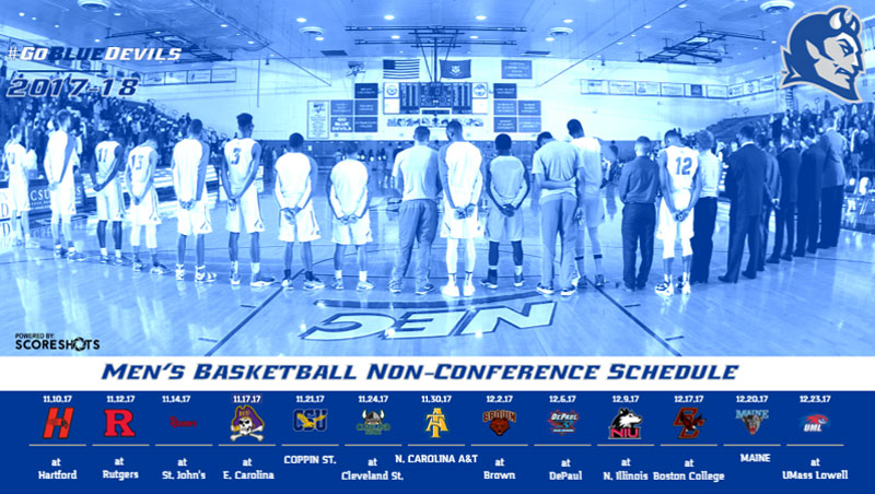 Men's Basketball Announces Non-Conference Schedule