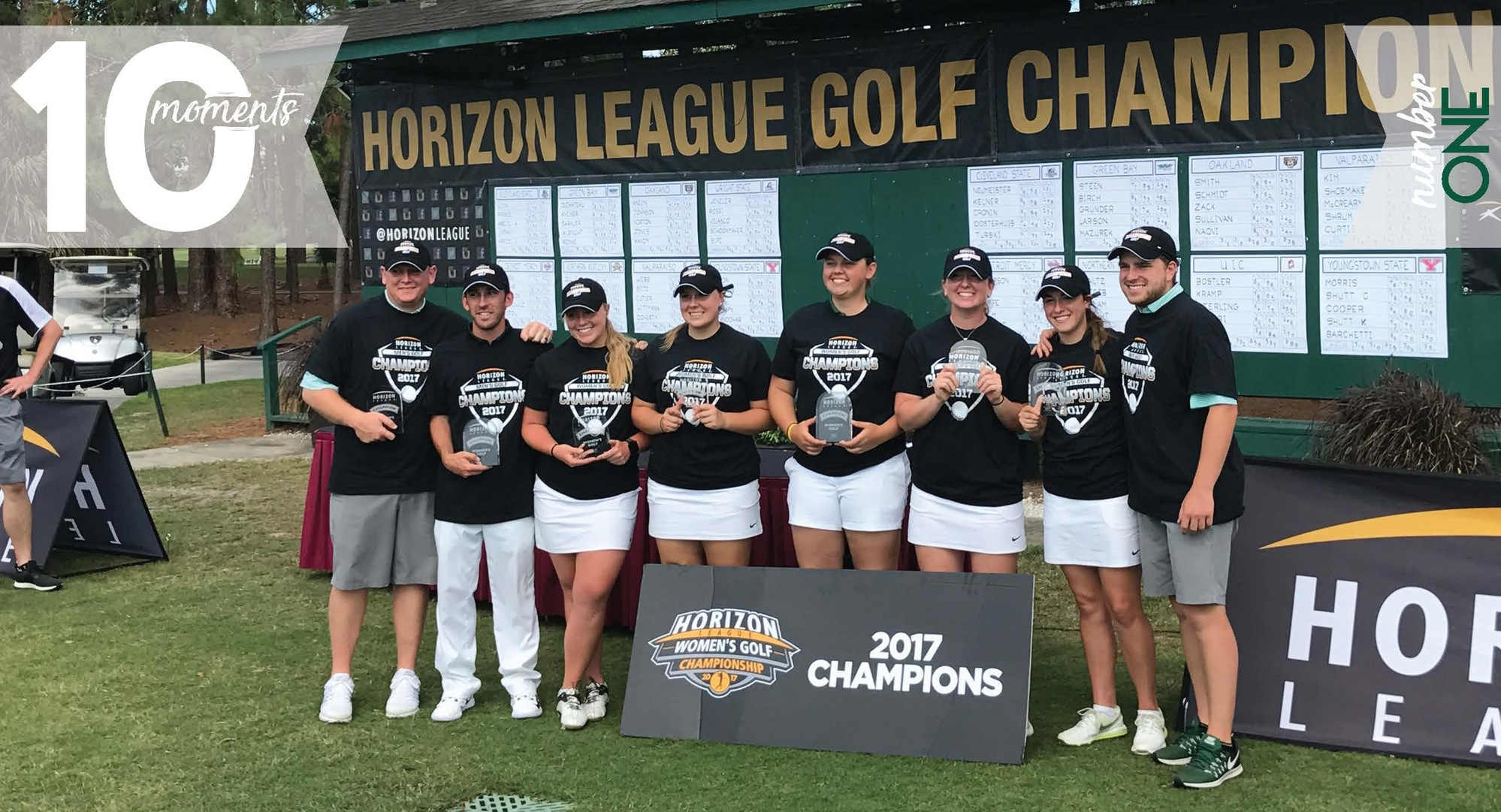 2016-17 CSU Athletics Top 10 Moments | #1 Women's Golf Wins First League Title in Program History
