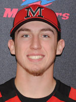 Mitchell's Hartenstein Earns NECC Baseball Player of the Week