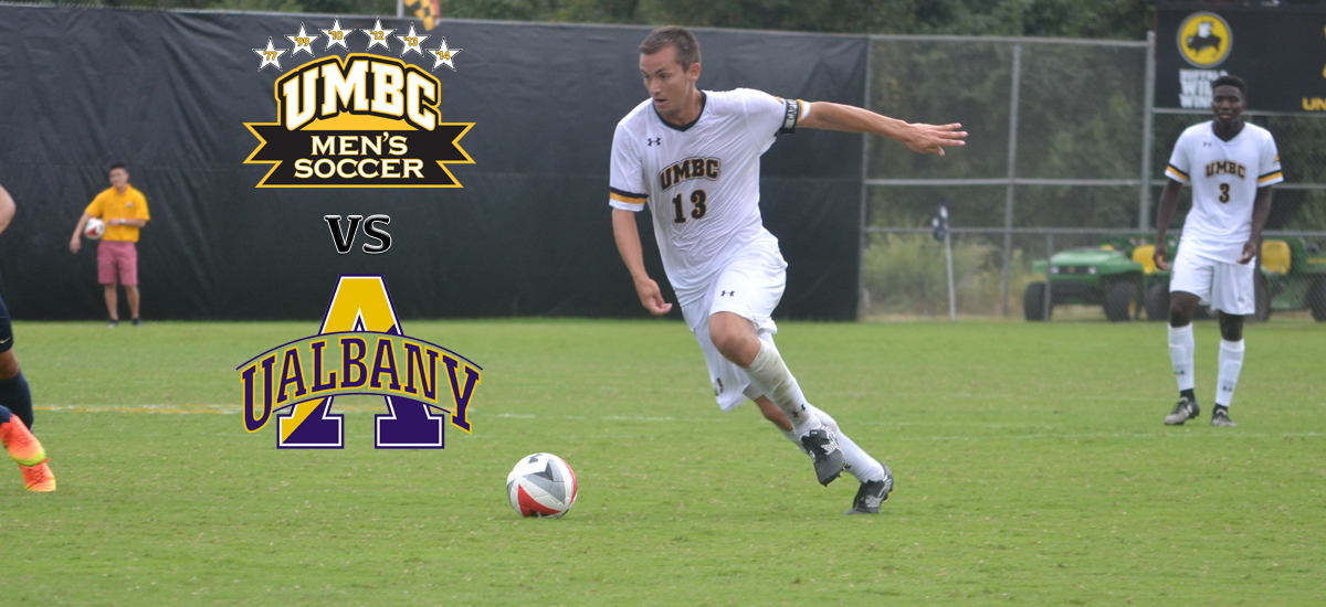 UMBC Men's Soccer Travels to the Empire State to Take on UAlbany on Saturday