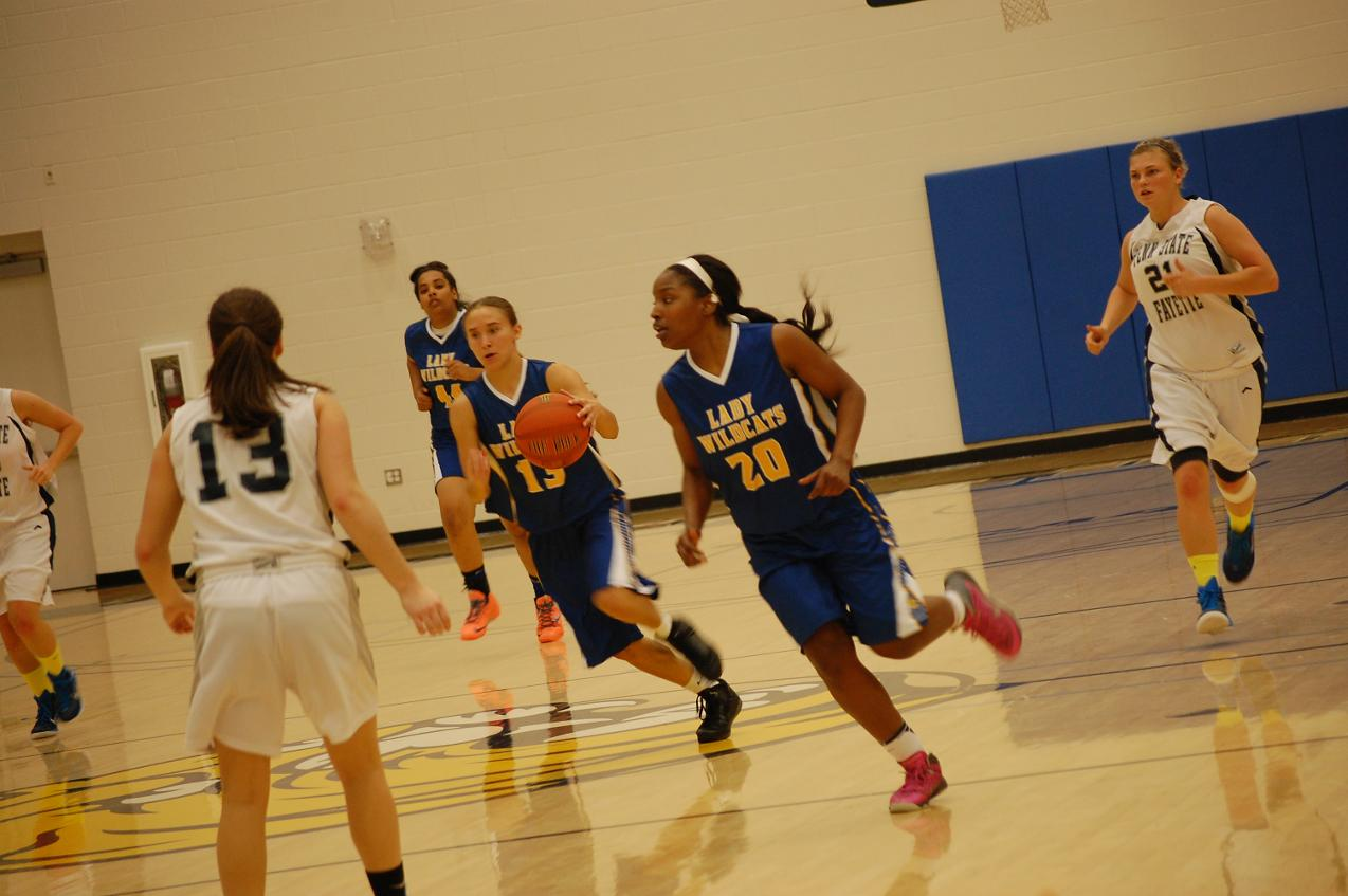 First-Year Wildcat Women's Basketball Program Showing Early Success