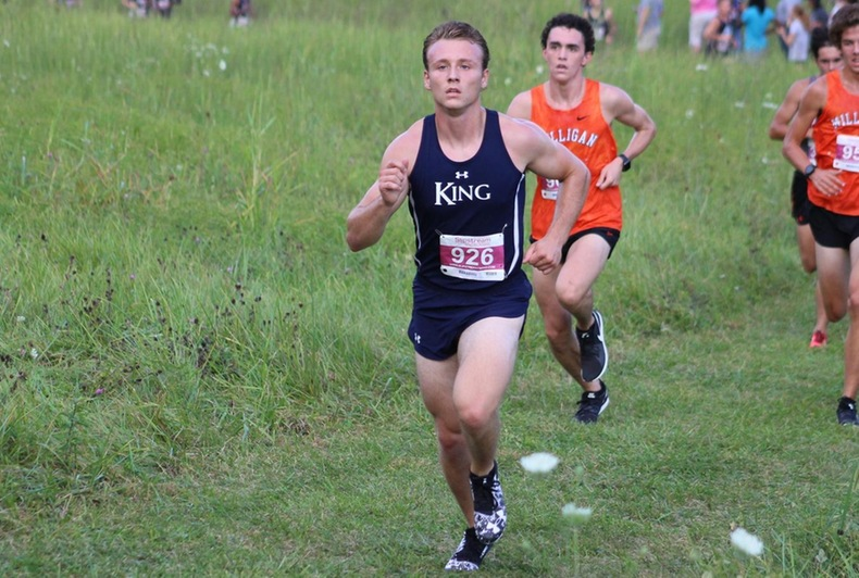 King finishes runner-up in season opener