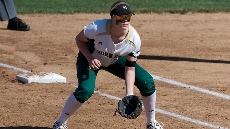 BROOKS' PITCHING AND A PAIR OF BOMBS LEAD SOFTBALL TO 3-0 VICTORY OVER FRESNO STATE