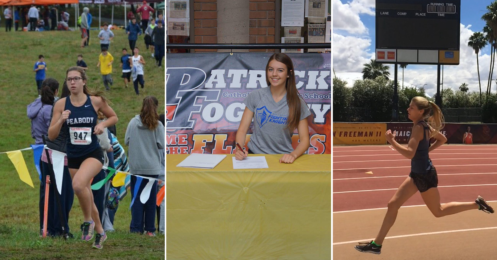 Cross Country/Track Adds Three More Freshmen for 2017 Campaign
