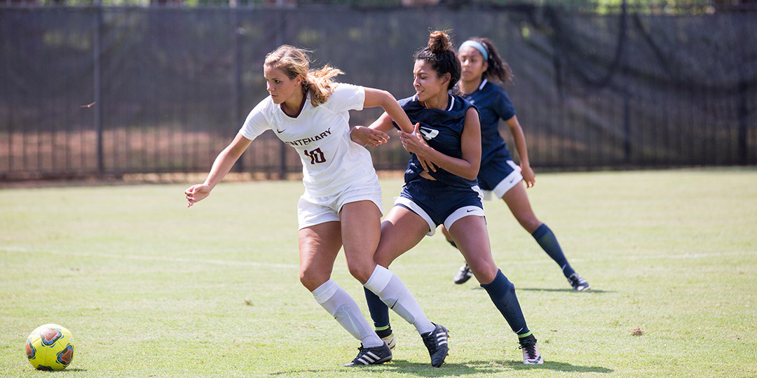 Montes Second Hat Trick Lifts Ladies Soccer Past Louisiana College, 3-2