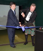 David Paterson Golf Technology Center Opens At Payne Whitney Gymnasium