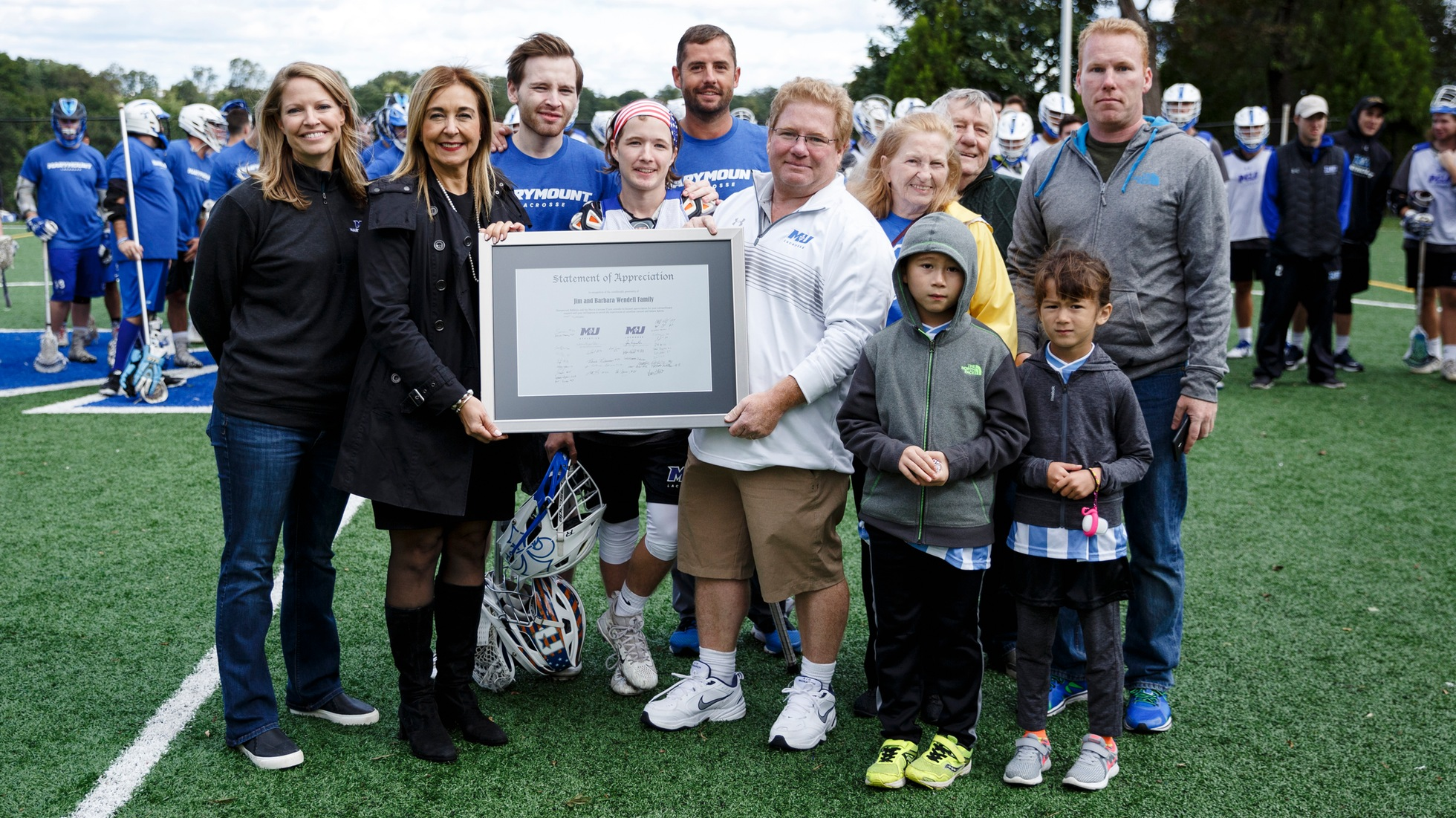 Marymount Athletics Department announces donation for men's lacrosse locker room naming