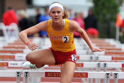Simpson kicks off IIAC Championships