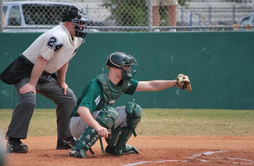 Elms Pile Up 18 Hits, Top Lynx
