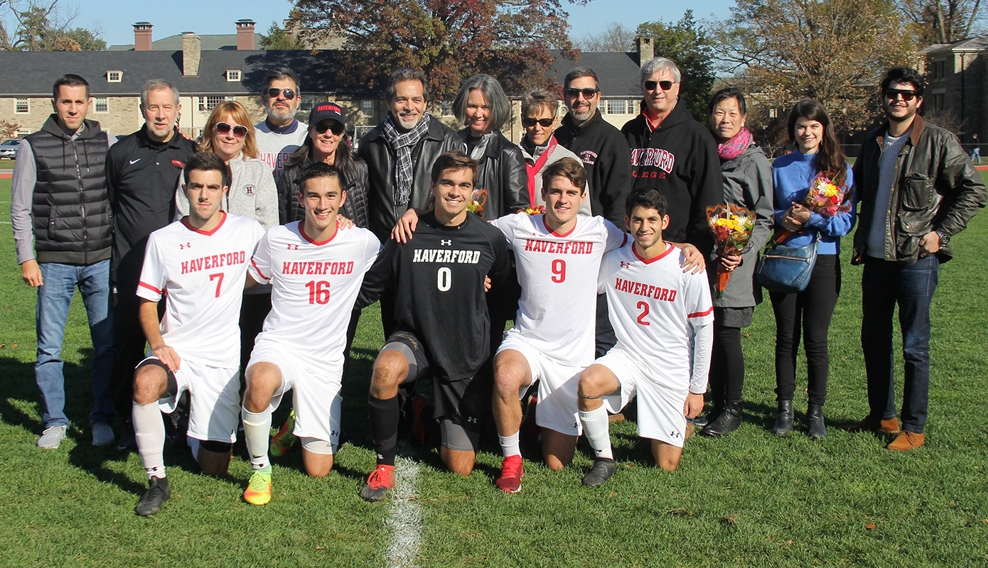 Men's Soccer Punches Playoff Ticket on Senior Day