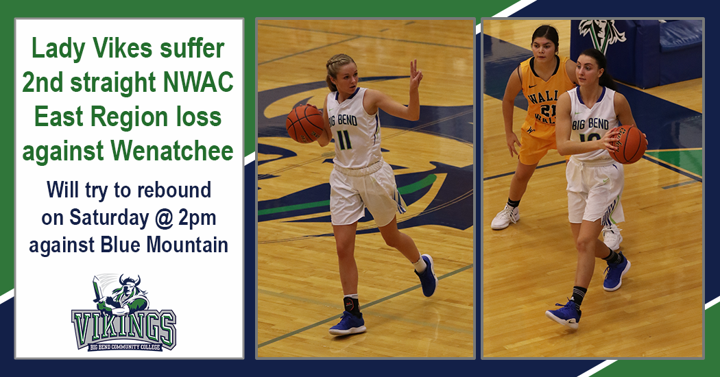 Lady Vikes suffer second-straight NWAC East Region loss