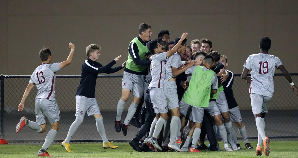 Men's Soccer Shuts Out San Diego State, 2-0, in 2018 Season Opener