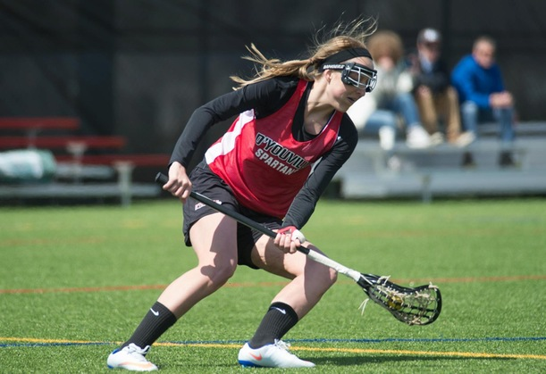 Golding Scores First Goal in Program History as Women's LAX Falls to Buffalo State