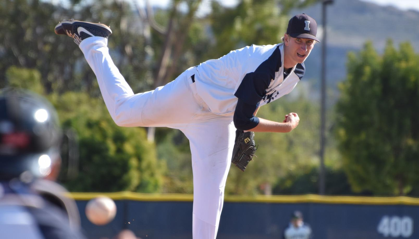 Baseball team goes to Long Beach and wins season opener
