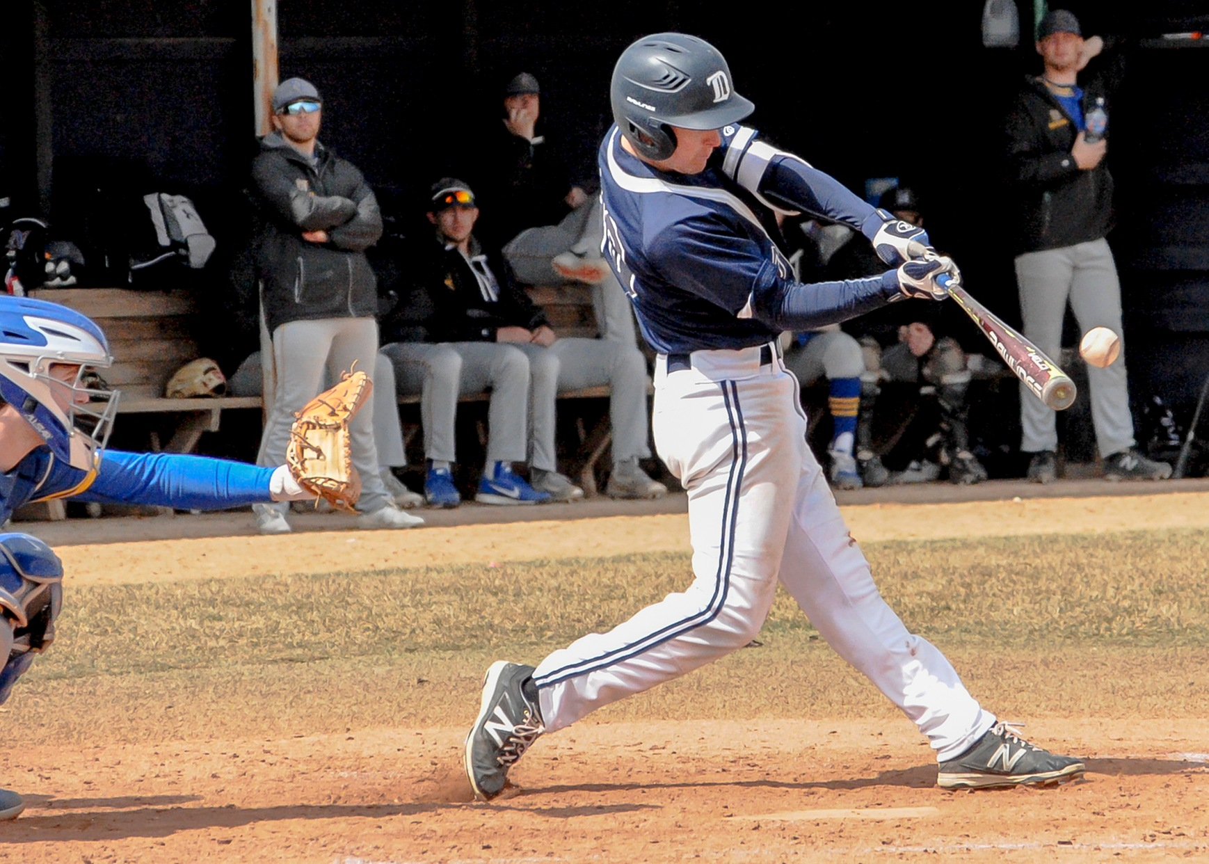 DMACC baseball team takes three of four from KCC; climbs to the top of the ICCAC standings