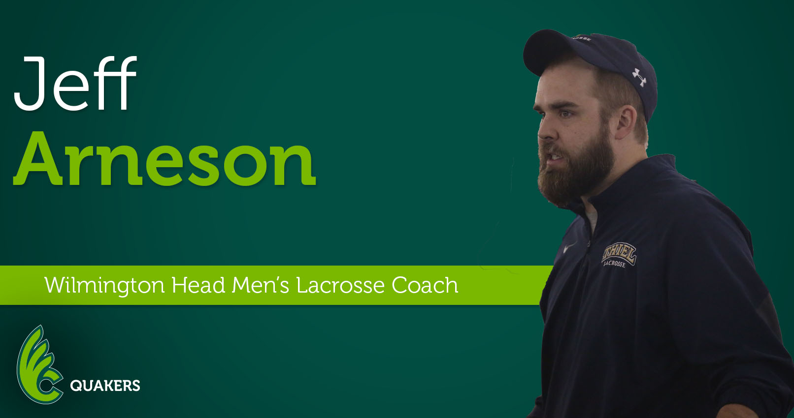Jeff Arneson Named Head Men's Lacrosse Coach