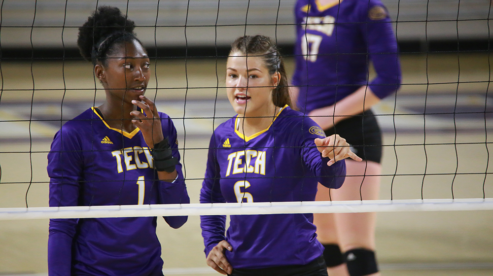 Tech volleyball wraps up nonconference schedule with loss to Idaho State in Seattle