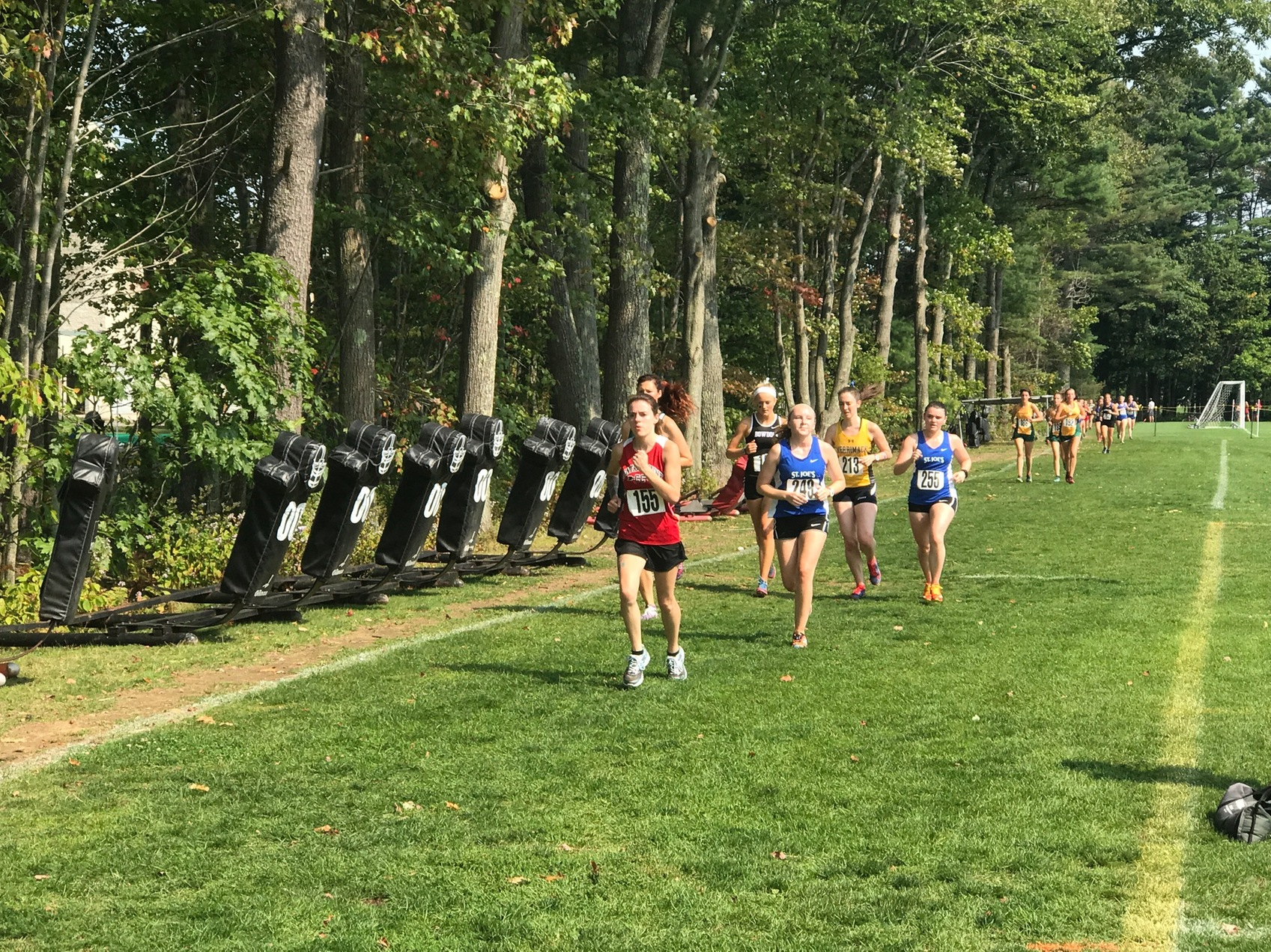 Cross Country competes at Bowdoin