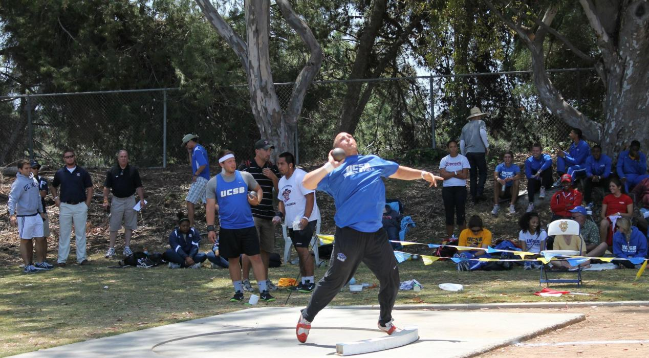 Nine Gaucho Men Head to Austin This Weekend for NCAA West Preliminaries