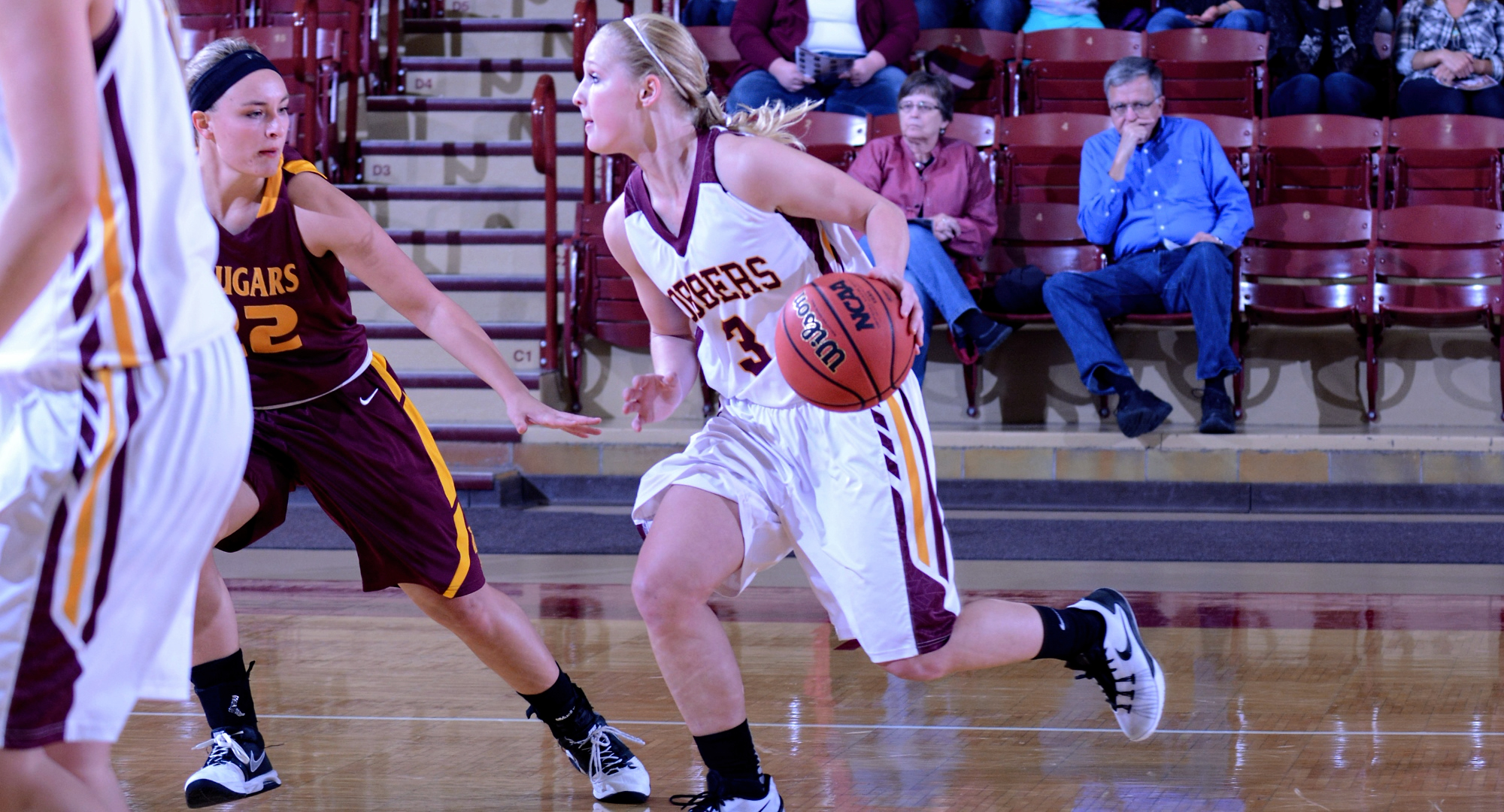 Senior Greta Walsh had a team-high 12 points and recorded three steals in the Cobbers' season-opening win over Minn.-Morris.