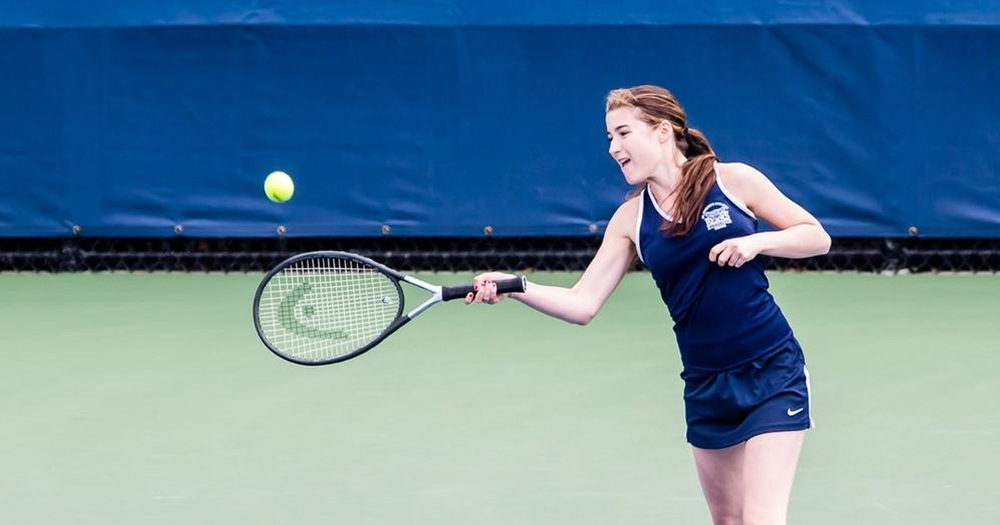 Women's Tennis Wraps Up Skyline Slate Hosting Mount Saint Mary