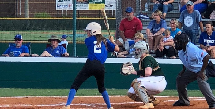 Lady Gators Drop Pair to Pierce
