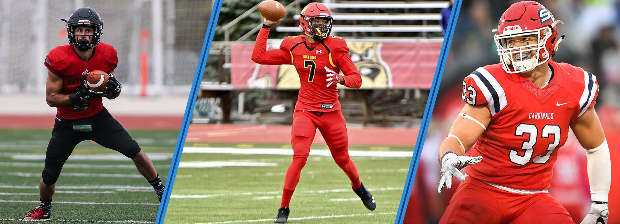 Ferris State's Campbell, Saginaw Valley's Alexander & Davenport's Couturier Honored GLIAC Football Players of the Week
