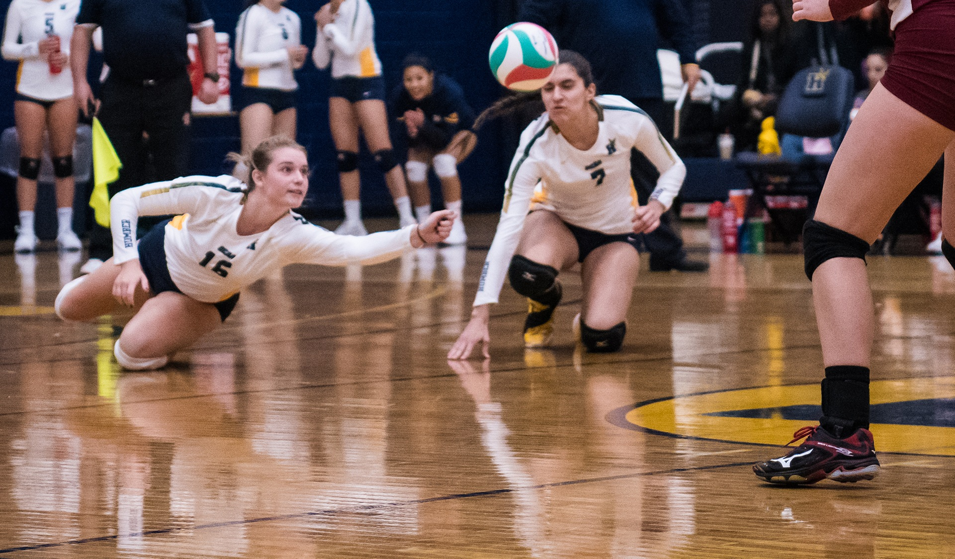 HAWKS PLAY COMEBACK IN ALL THREE SETS FOR WIN AT REDEEMER