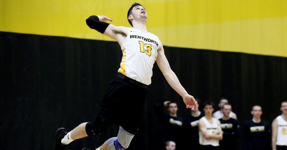 Men's Volleyball Serves Regis 3-0 Sweep