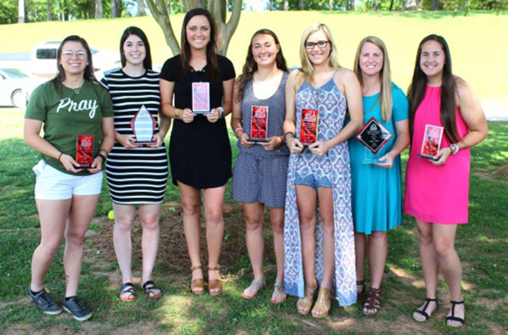 Softball: Individual team awards handed out at year-end ceremony