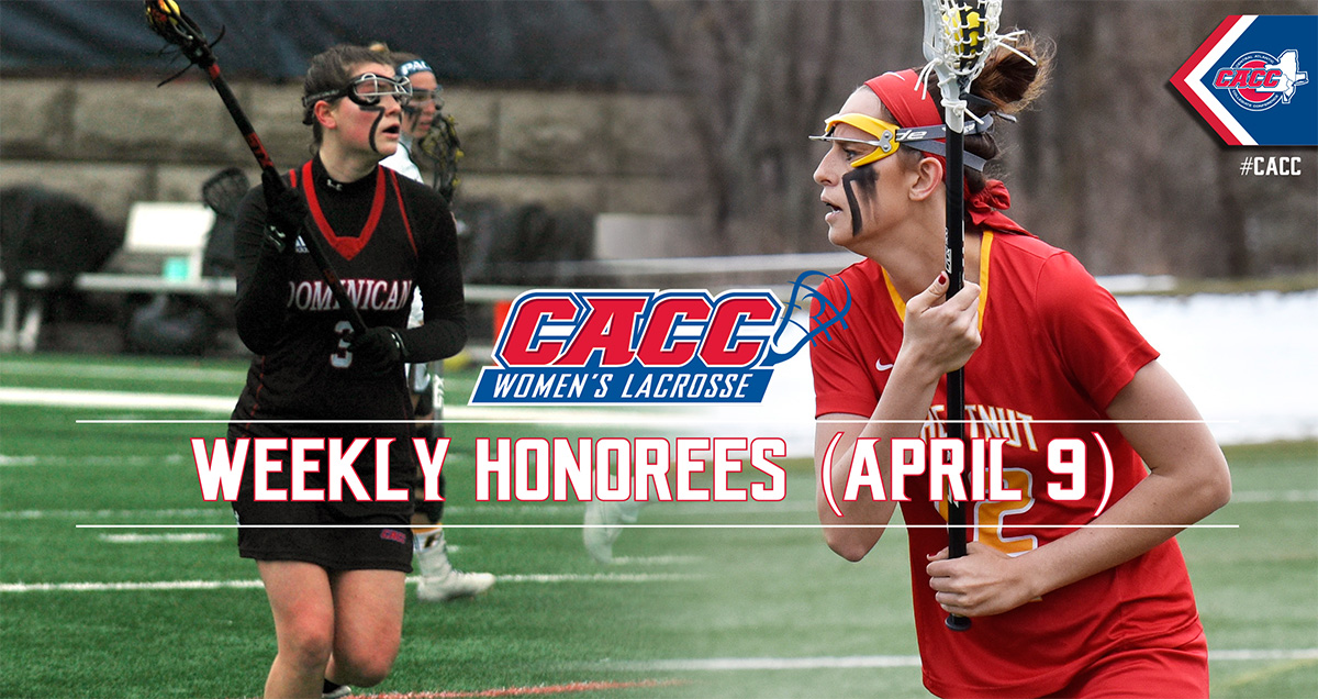 CACC Women's Lacrosse Weekly Honorees (April 9)