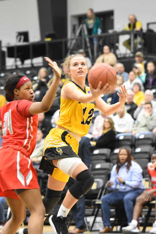 Lady Raiders suffer 1st half struggles in loss to Moberly