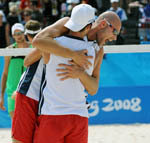 Rogers and Dalhausser Advance to Olympic Semis