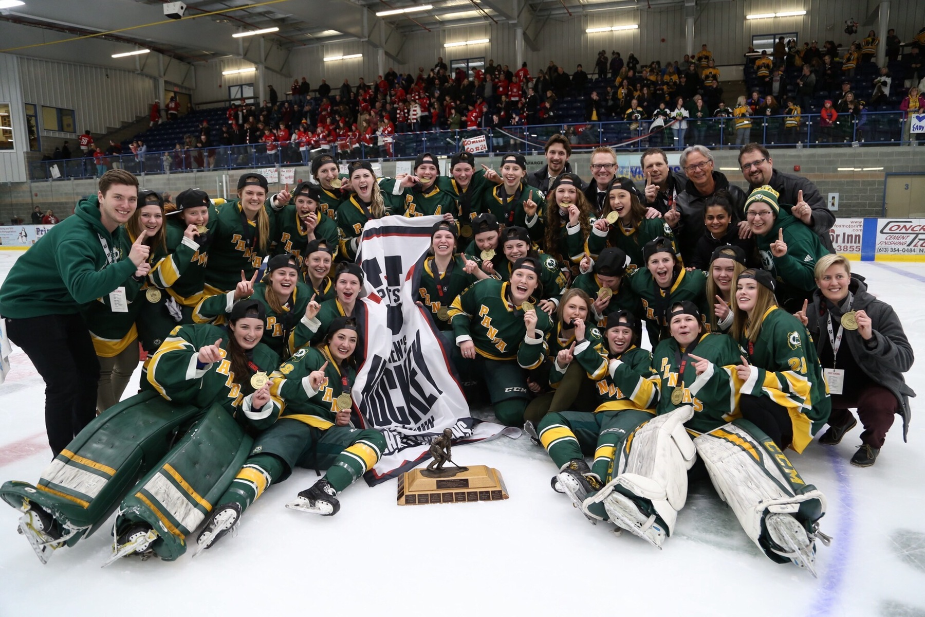 FINAL 2017 U SPORTS Women's Hockey Championship: Kezama double OT winner gives Alberta 8th Golden Path National Championship