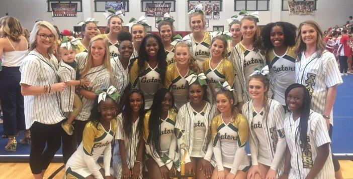 Cheerleaders win 2nd Consecutive Cheer Competition