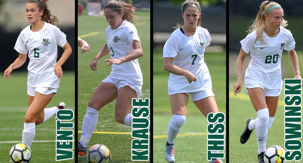 Four Vikings Named to Academic All-Ohio Team