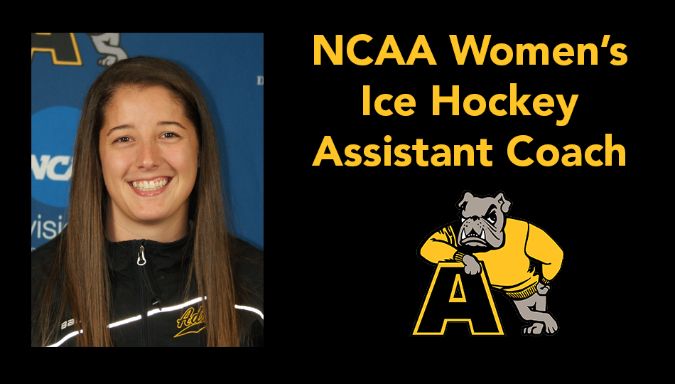 Hannah McGowan '15 Returns to Adrian as NCAA Women's Ice Hockey Assistant Coach