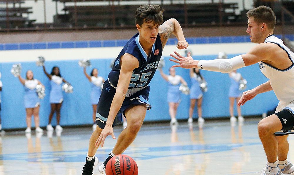 MBK: Lasell downs Norwich for GNAC victory; Team effort leads Lasers