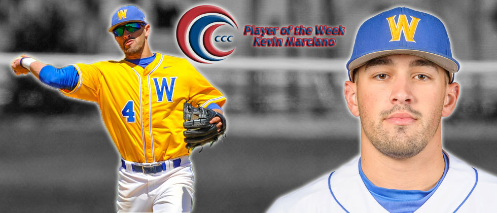 Kevin Marciano Earns CCC Player of the Week Honors