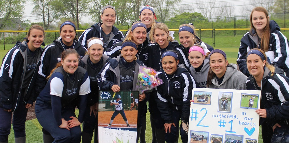 Softball Senior Day 2017
