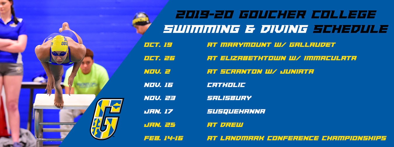 Goucher Swimming And Diving Announces 2019-20 Slate