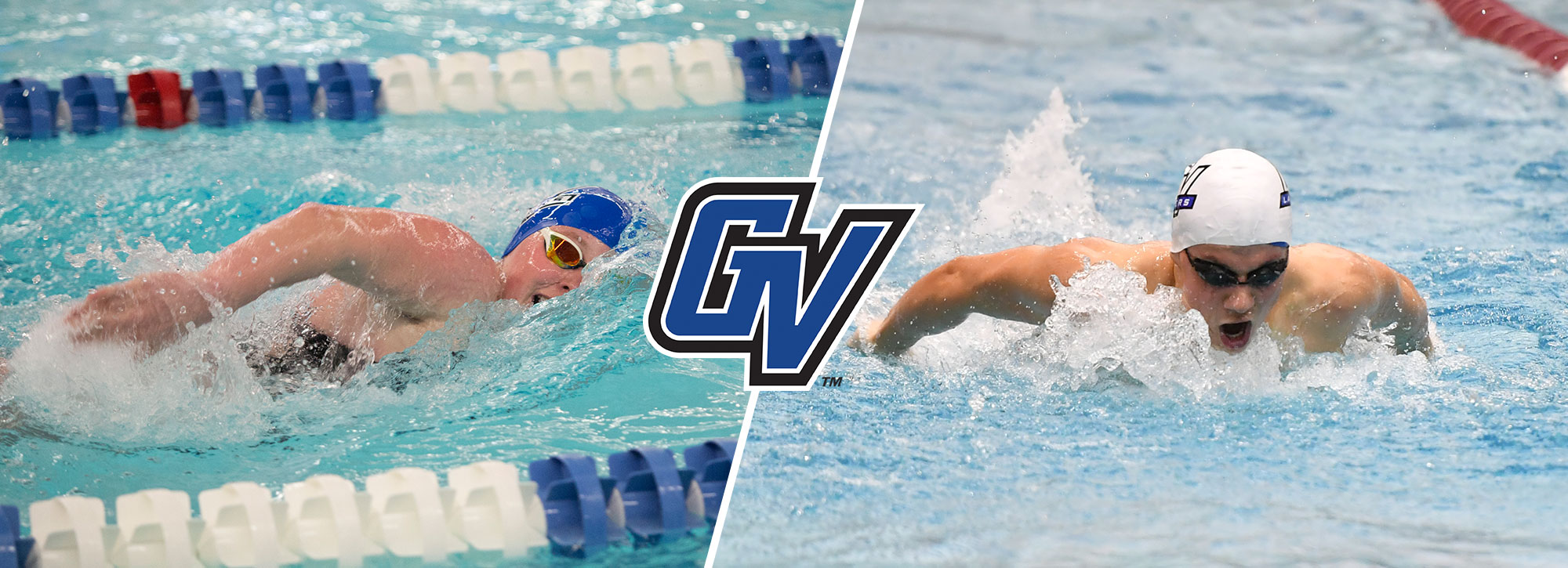 GVSU's Goebel & Bartels Tabbed GLIAC Swimming Athletes of the Week