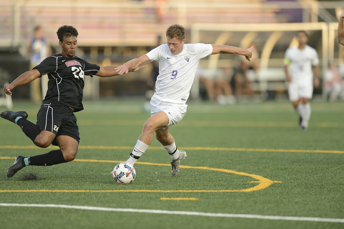 Vadseth's Brace And Tofern's Clean Sheet Help Lead UB Men's Soccer To 3-0 Win At Mercy