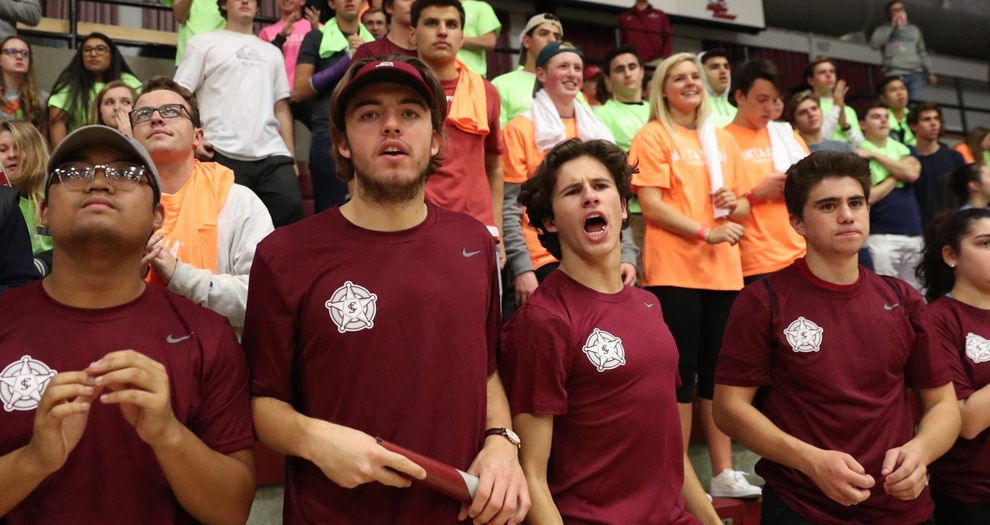 Ruff Riders, students section in Leavey Center