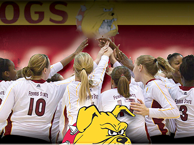 Ferris State Women's Volleyball Opens Fall Camp