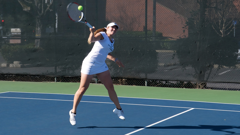 WOMEN'S TENNIS COMPLETES COMPETITION AT ITA NORTHWEST REGIONALS
